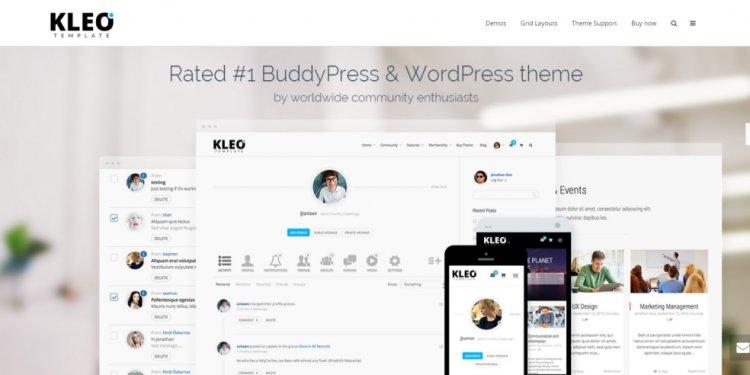 BuddyPress WordPress KLEO