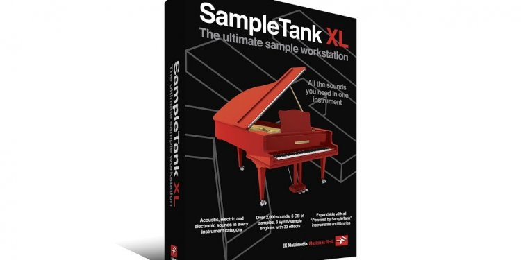 IK MULTIMEDIA SAMPLETANK 2.5