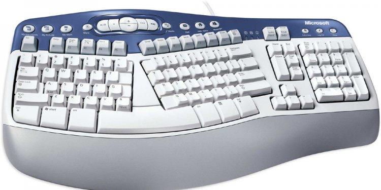 MS Natural Multimedia Keyboard