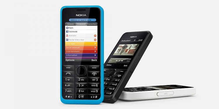 Nokia 301 Launched at Rs 5349