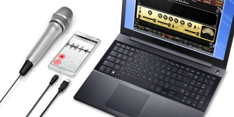IRig software for PC