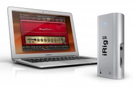 iRig UA with MacBook Air