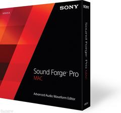 Sony Sound Forge Pro Mac 2 - MyChoiceSoftware.com